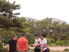 葉山しおさい公園で行程の打ち合わせ