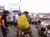 三崎港で復路の準備