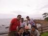 秋谷の立石公園にて集合写真