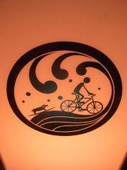 家紋デザイナー沖のりこさんの作品。江の島の灯籠に使われていました